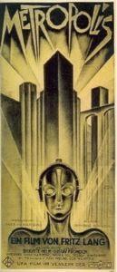 Filmaffischen Metropolis.