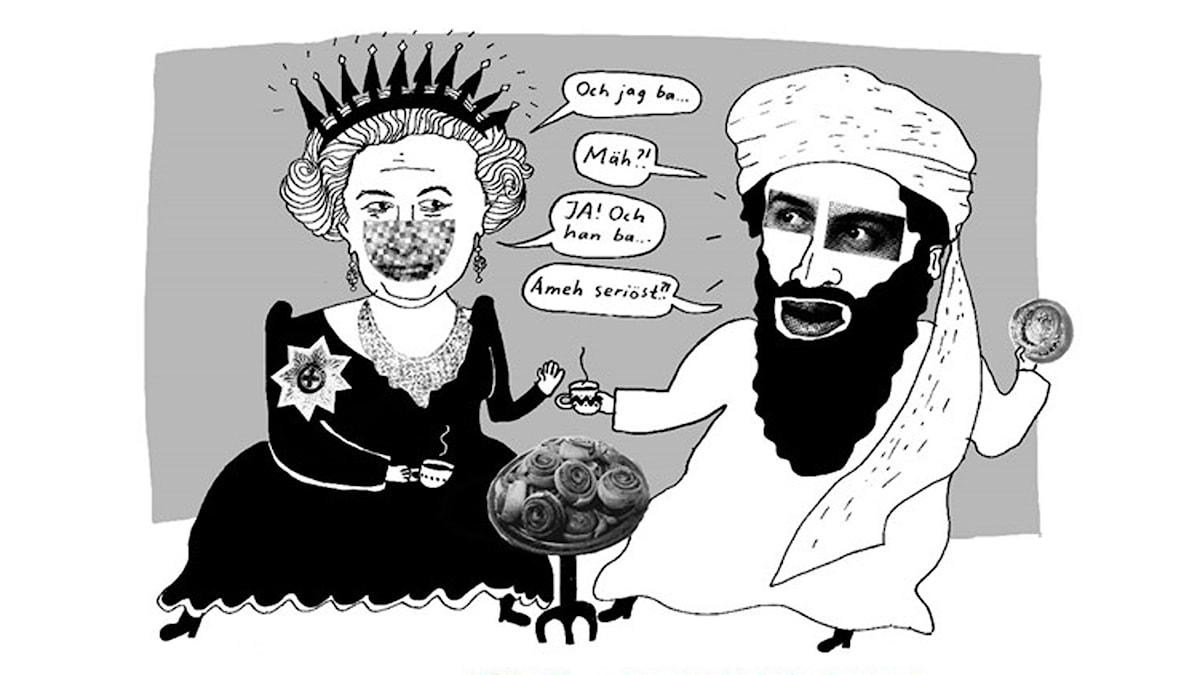 Möjliga samtal. Illustration: Liv Strömquist.