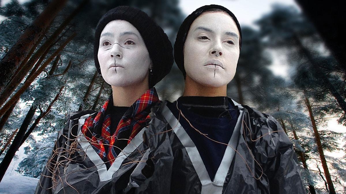 Dagbok från Gallok med Mimie och Maxida Märak (Foto: Henrik Blind. Montage: Fredrik Ydhag.)