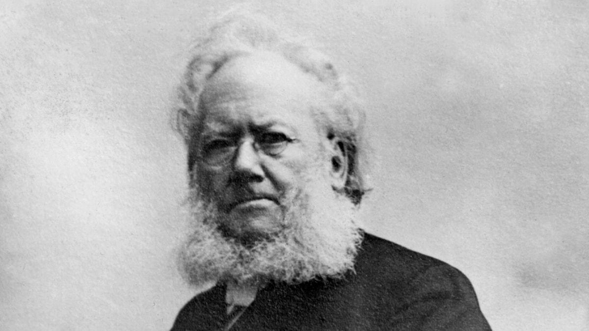 Henrik Ibsen (Foto: SVT Bild)