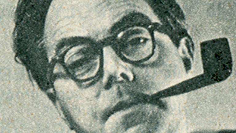 Max Frisch (Foto: RiR nr 31, juli 1968)