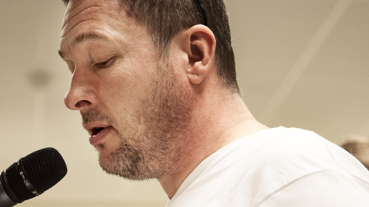 Kristian Lundberg (Foto: Mikael Andersson/Sveriges Radio)