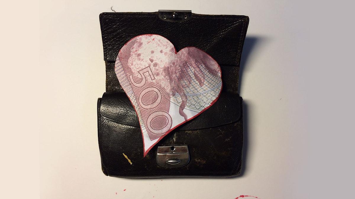 Plånbokshjärtat (Foto: Christina Claesson)