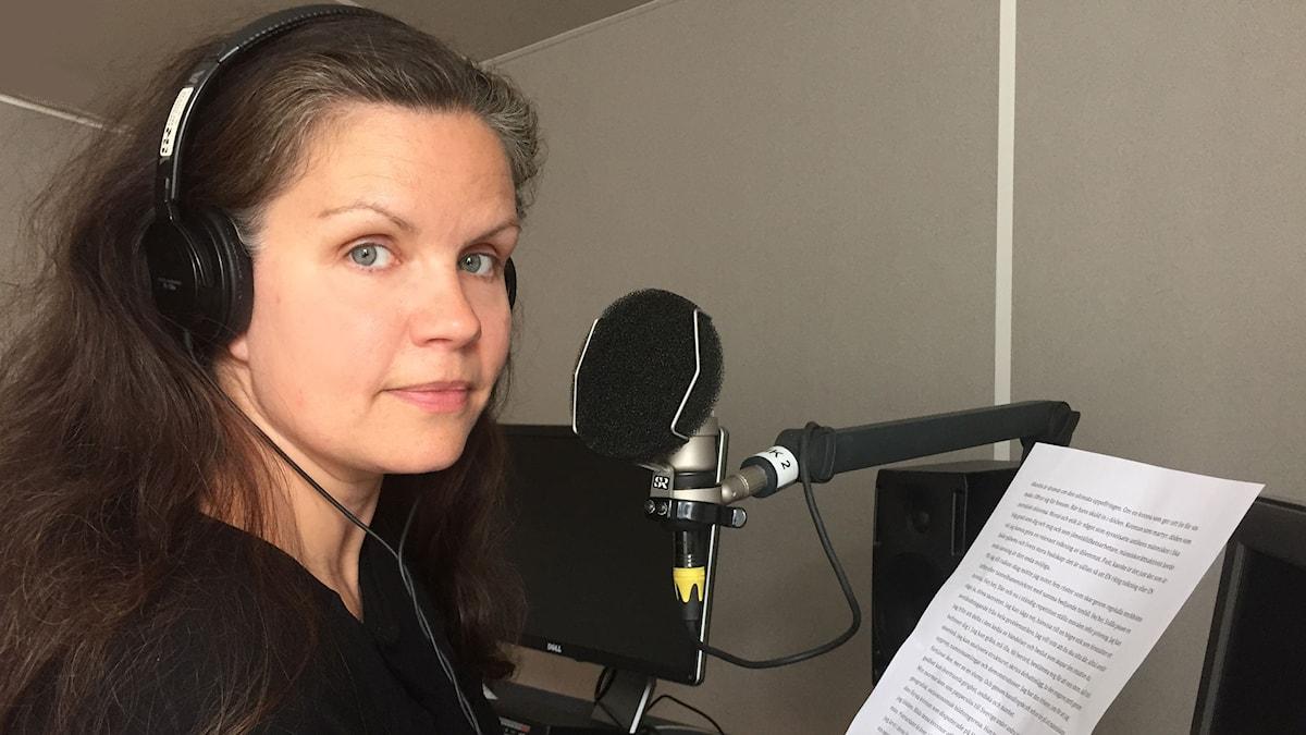 Louise Lindfors (Foto: Marie Jansson/Radioteatern)