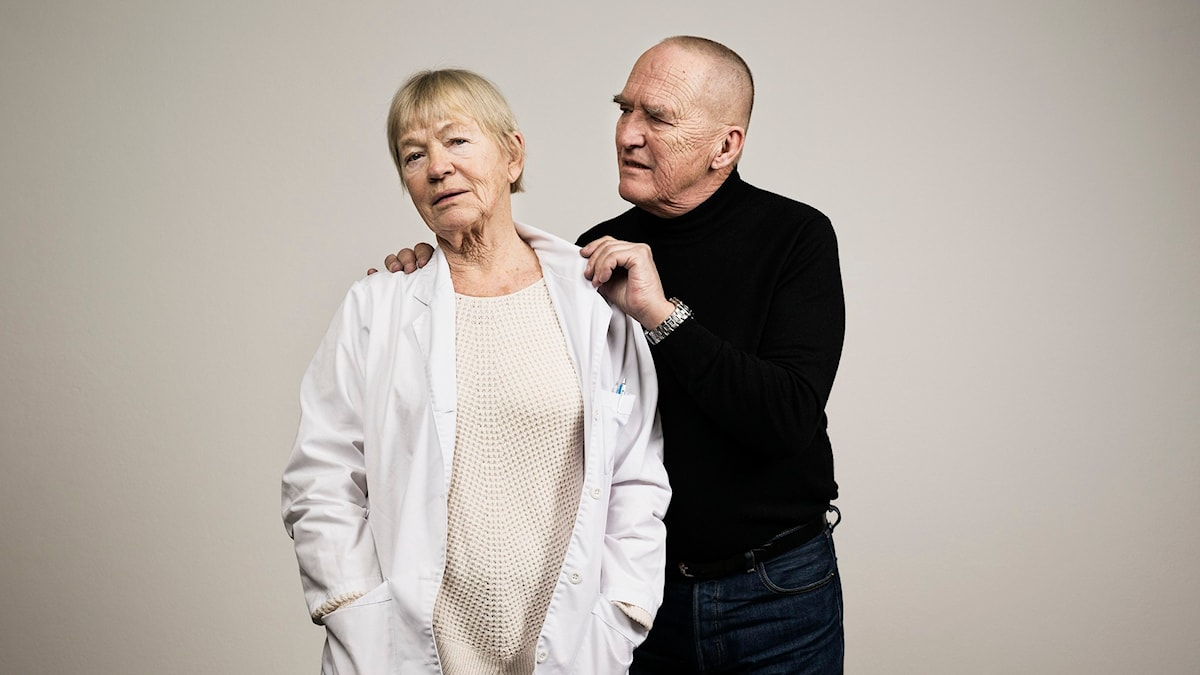 Anita Ekström och Hans Mosesson i Doktor Agnes B. (Foto: Mattias Ahlm/Sveriges Radio)