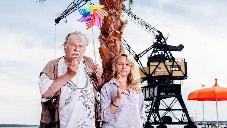 Staffan Westerberg och Maria Sundbom (Foto: Kacper Sarama/Luleåfotograferna)