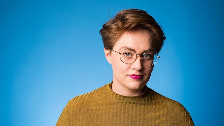 Jennifer Sameland (Foto: Mattias Ahlm/Sveriges Radio)