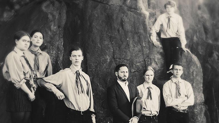 Ungdom utan Gud - Linnea Christiansson, Tulika G Lundmark, Pål Ströbaek, Matias Varela, Love Ahlström, Elis Kalmér och Henrik Söderlind.