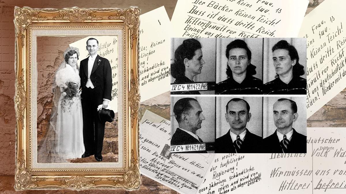 Förlagan till paret Quangel i Ensam i Berlin var Otto och Elise Hampel.