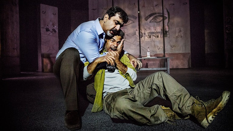 Miran Kamala och Karim Rashed i I Came To See You