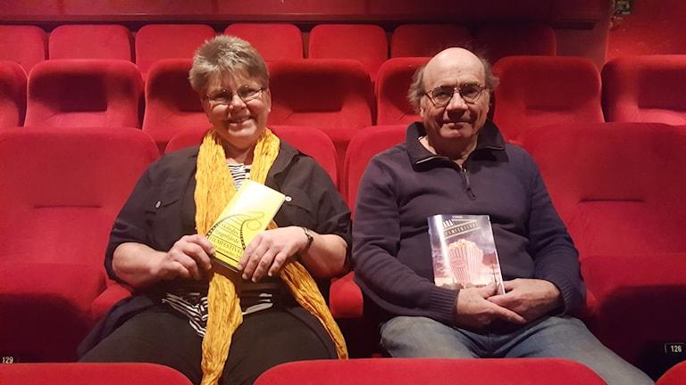 Berit Lidell och Anders Linder ser fram emot dubbla filmfestivaler.
