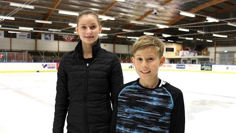 Cassandra och Casper Johansson