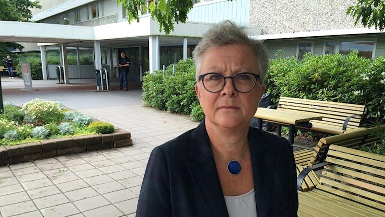 Maria Söderberg, verksamhetschef för barn- och kvinnosjukvården i Skaraborg.