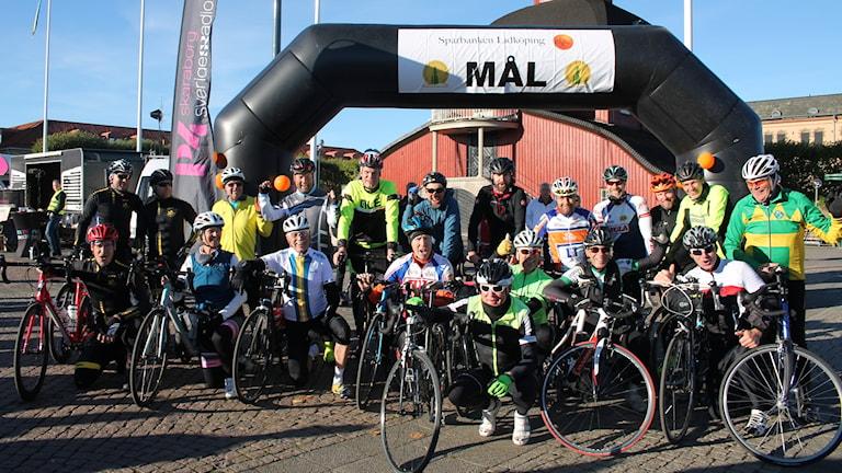 "Bernt Johanssons ""cykelstall""."