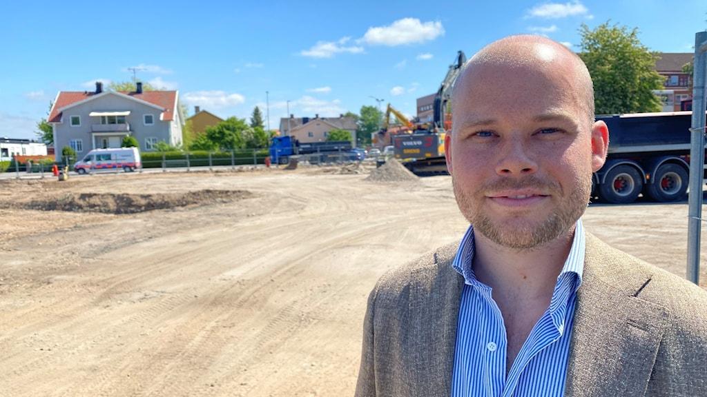 Planchef Adam Johansson
