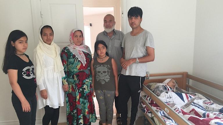 Bibikhal Uzbek och familjen