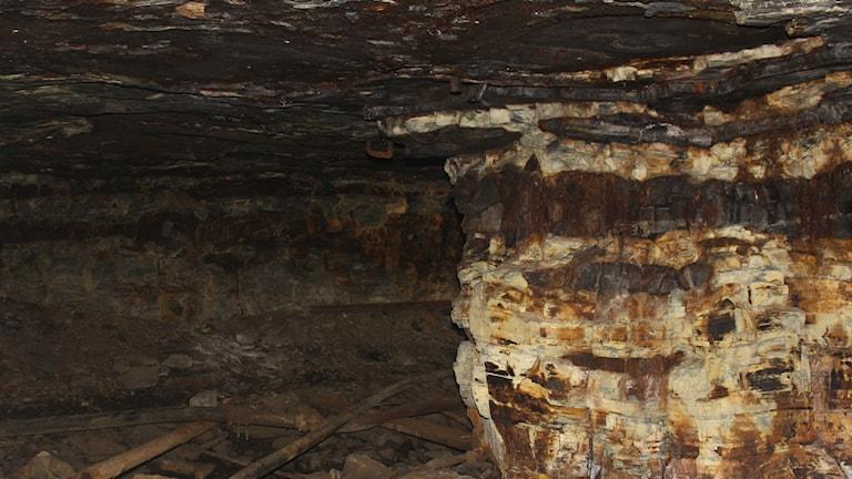 gruva gruvgång Kinne-Kleva