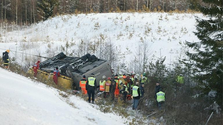 Bussolyckan utanför Arboga