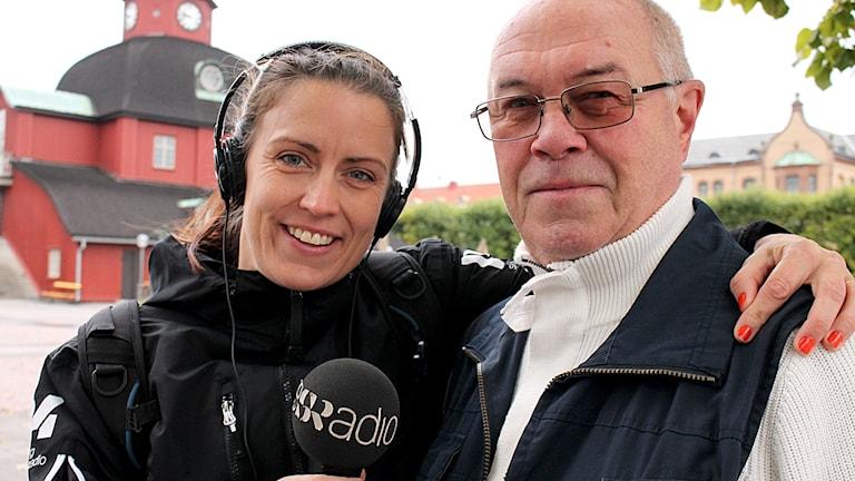 Lida Gustavsson och Gunnar Strömberg