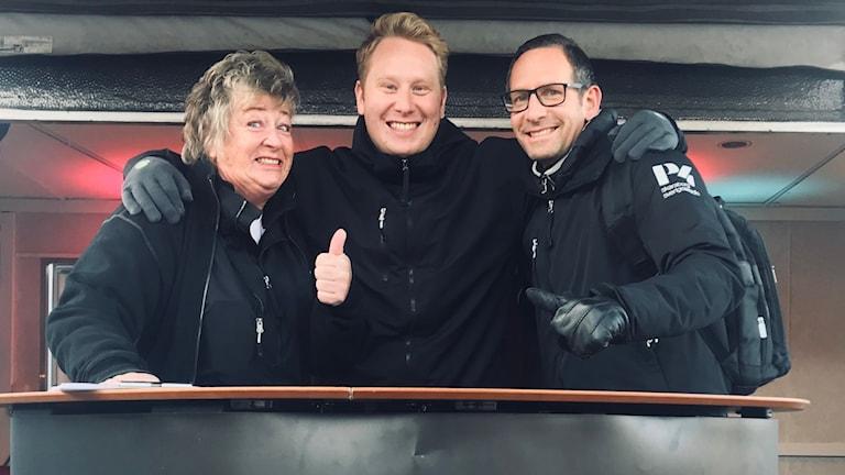 Stora torget Falköping  Ewa Ohlsson, Emil Andersson, Torbjörn Borg