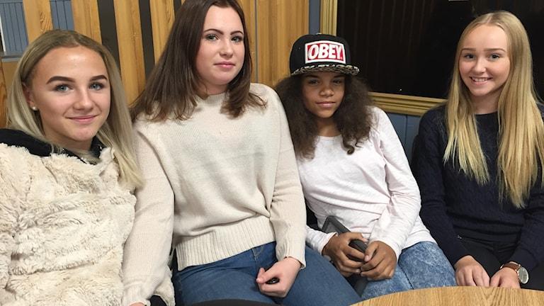 Elever på Dalängsskolan i Lidköping