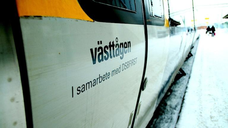 Västtåg. Foto: Jan Soja / Sveriges Radio (arkiv).