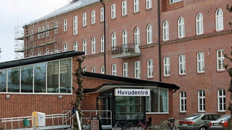 Sjukhuset i Lidköping. Foto: Marie Schnell Forkman/P4 Skaraborg Sveriges Radio