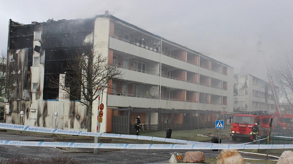 Branden i Södra Ryd, Skövde