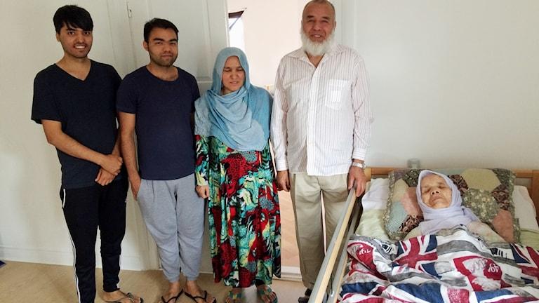 familjen Uzbek i Hova