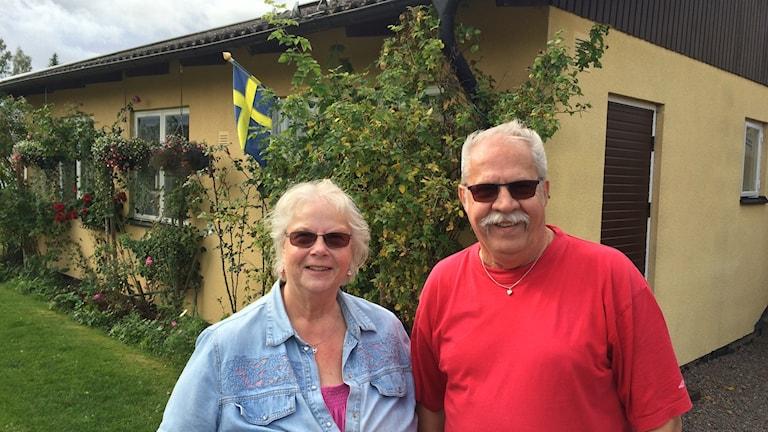 Ulla och Olle Thorsberg jobbade på pappersbruket i Lagerfors