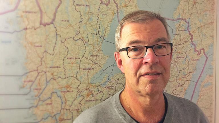 Stefan Kristiansson, chef för gränspolisen.