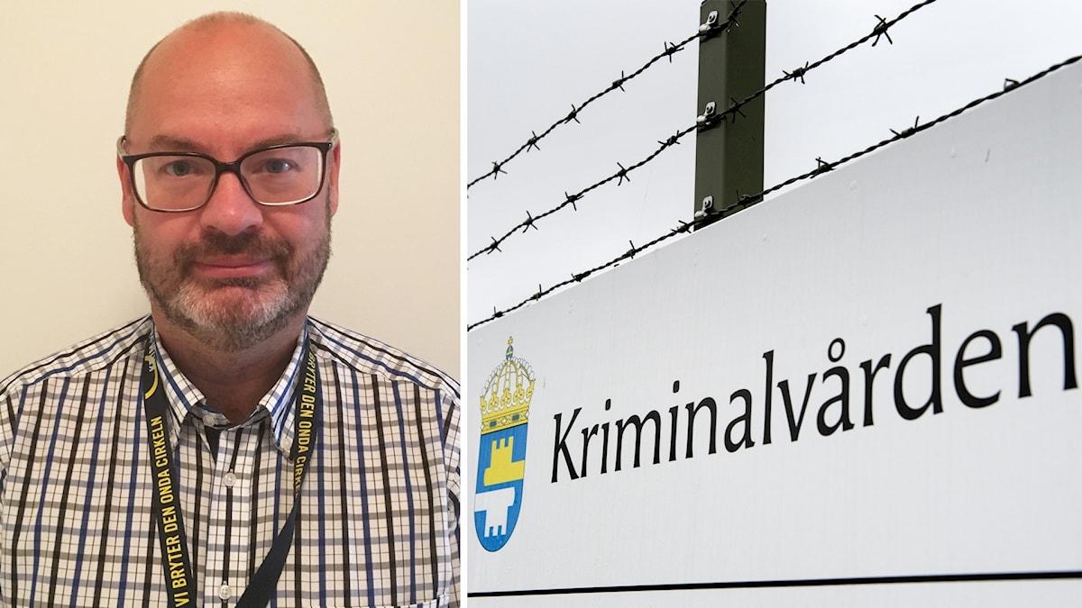 Martin Lardén från Kriminalvårdens enhet för behandlingsprogram.