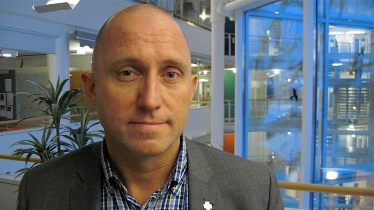 Leif Walterum. Foto: Julia Peric (P4 Skaraborg Sveriges Radio)