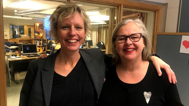 Jenny Brusk och Anna-Karin Jonsson