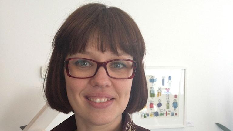 Karin Lundström Kron. Foto: Erik Grönlund/Sveriges Radio (arkiv)