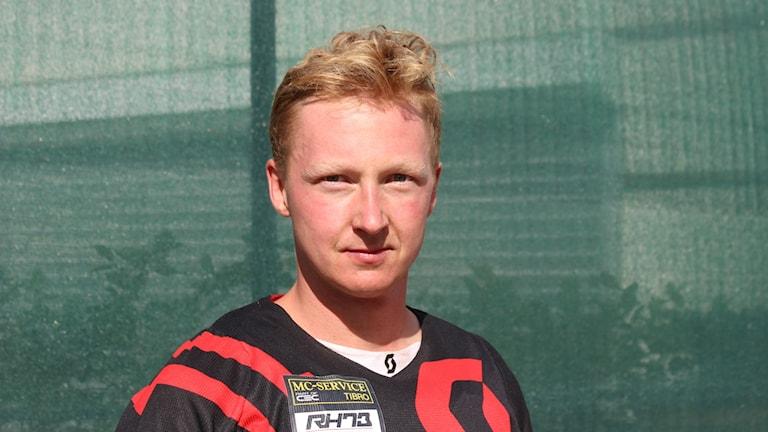 Rickard Hansson Tibro MK. Foto Tommy Järlström Sveriges Radio.