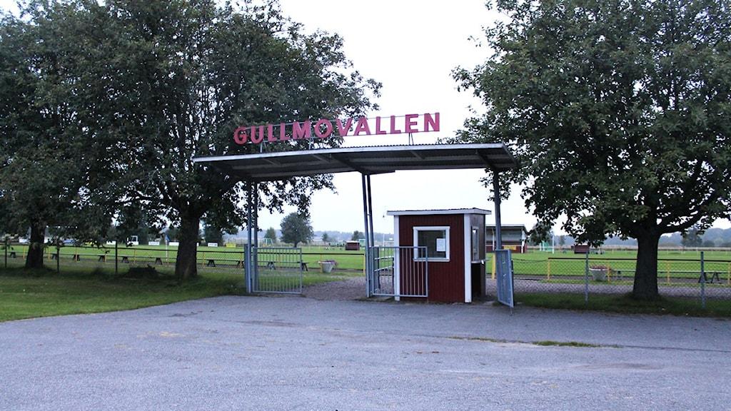 Gullmovallen där Gullspångs IF tränar och spelar sina hemmamatcher. Foto: Christopher Johansson / P4 Skaraborg Sveriges Radio