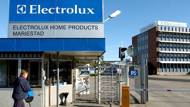 Electrolux fabrik i Mariestad. Foto: Sveriges Radio