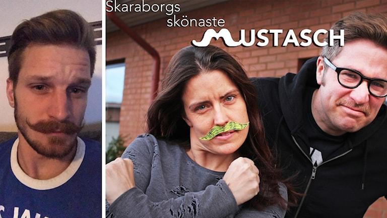 Richard Pettersson, Linda Gustavsson och Linus Wennblom.