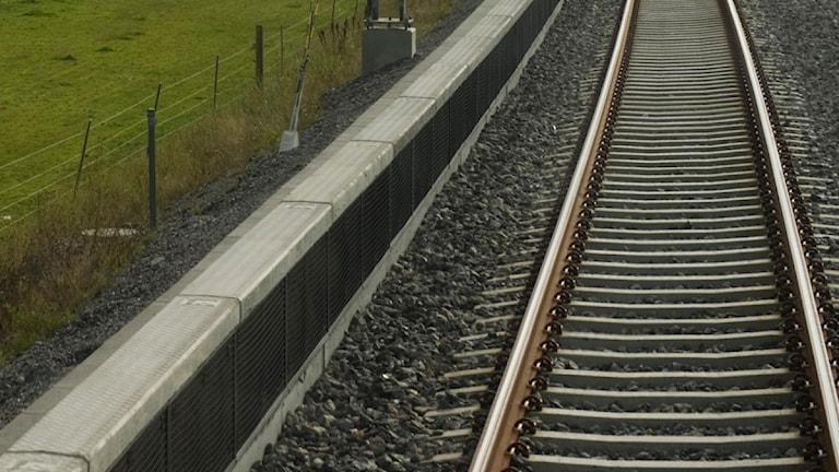 Järnvägsspår Foto: Henrik Montgomery / Scanpix