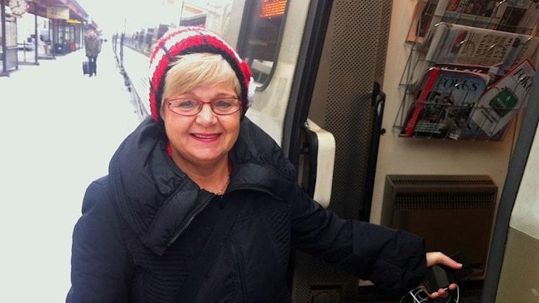 Monica Green skriver flest motioner. Foto: Erik Holmlund/P4 Skaraborg Sveriges Radio.
