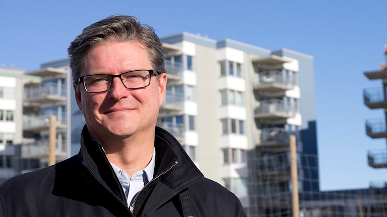 Skövdebostäders VD Dan Sandén. Foto: Marthina Stäpel