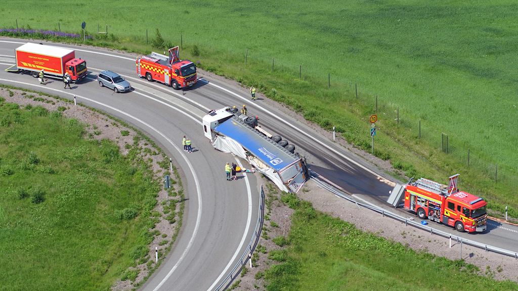 lastbilsolycka