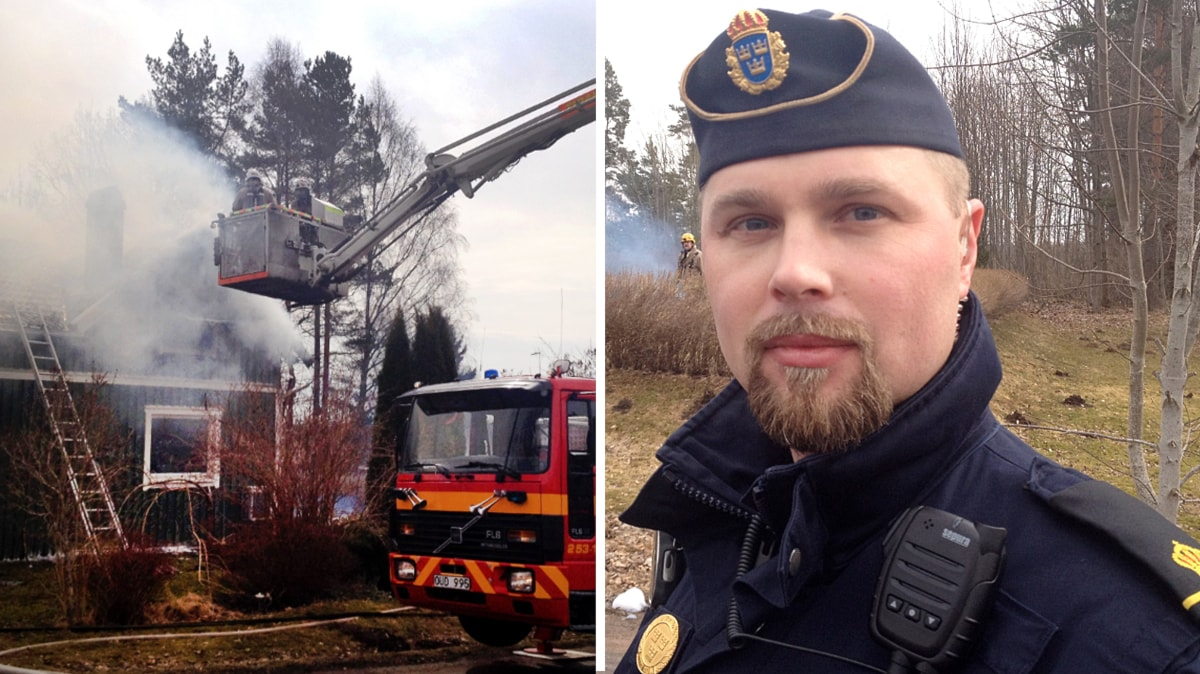 En anhallen for villabrander i tidaholm