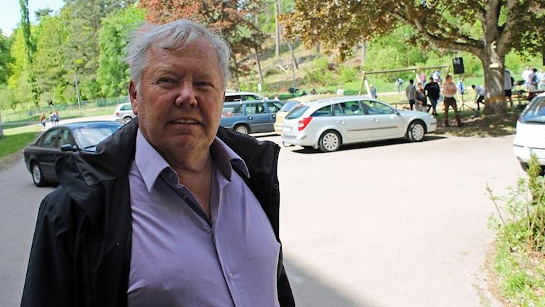 Bert Karlsson. Foto: Erik Holmlund/P4 Skaraborg Sveriges Radio.