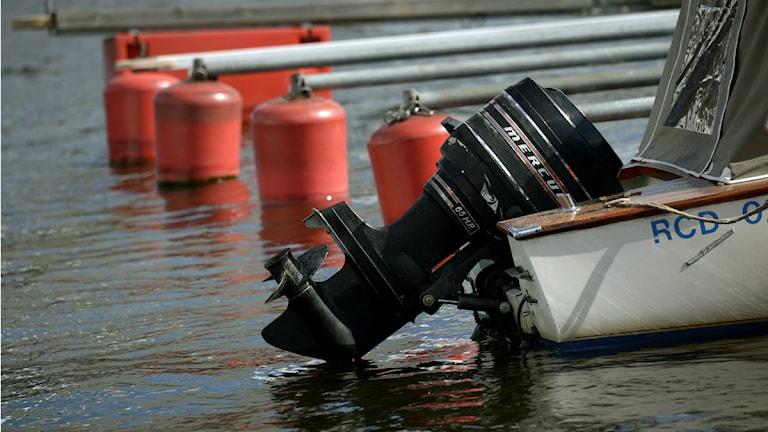 Båtmotor. Foto: Jan-Erik Henriksson / Scanpix