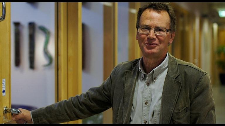 Varas kommundirektör Gert Norell är en av initiativtagarna till Vara konserthus som stod klart för tio år sedan. Foto: Lisa Andersson P4 Skaraborg Sveriges Radio