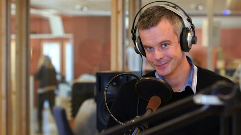 Magnus Thomson. Foto: Josefin Pettersson / P4 Skaraborg Sveriges Radio.