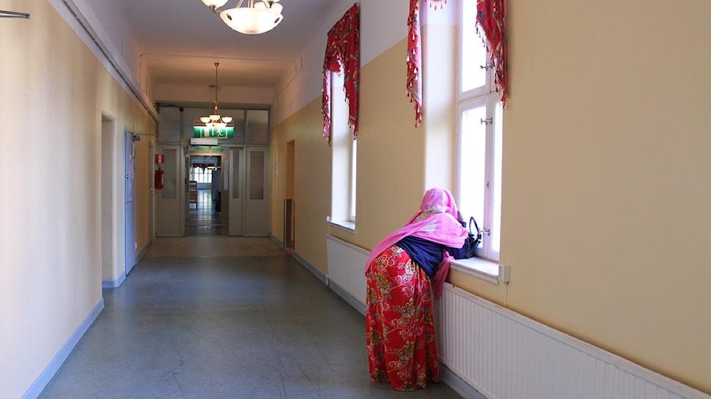 Ensamkommande flyktingbarn på boende Foto: Jasmin Akbarzadeh / Sveriges Radio.