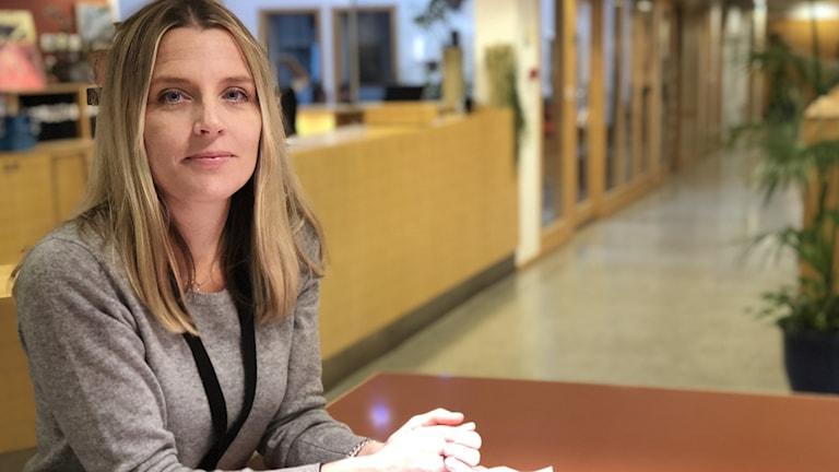 Journalisten Johanna Frändén från Lerdala.